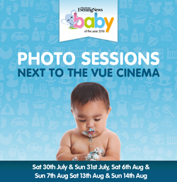 MEN Baby of the year photo sessions