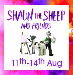 Meet Shaun the Sheep and friends - Aardman Animations event