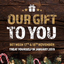 Our gift to you- Reward Weekend